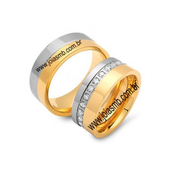 Alianças de Casamento Camocim 8,4mm