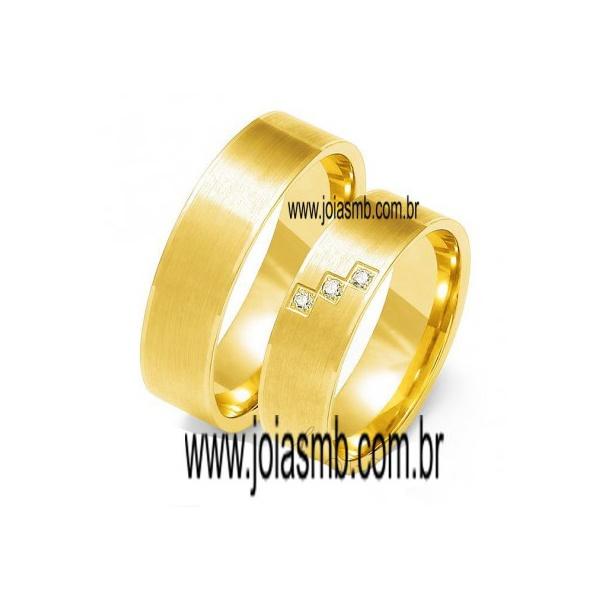 Alianças de Casamento Içara 6,5mm