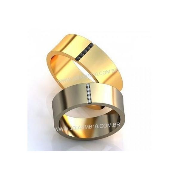 Alianças de Casamento Lauro de Freitas 6mm