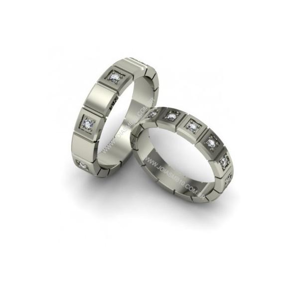 Alianças de Casamento Flores da Cunha 4,7mm