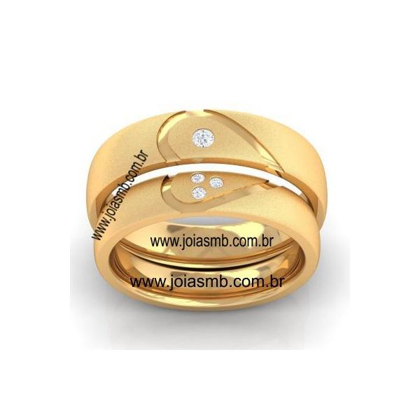 Alianças de Casamento Capanema 6,3mm