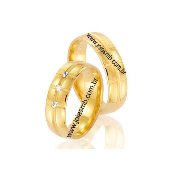 Alianças de Casamento Santos 7mm