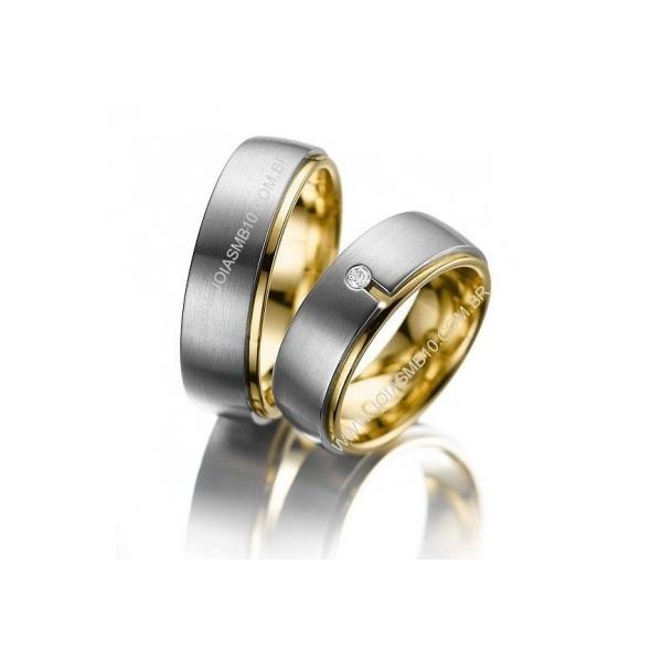 Alianças de Casamento Aracaju 8,5mm