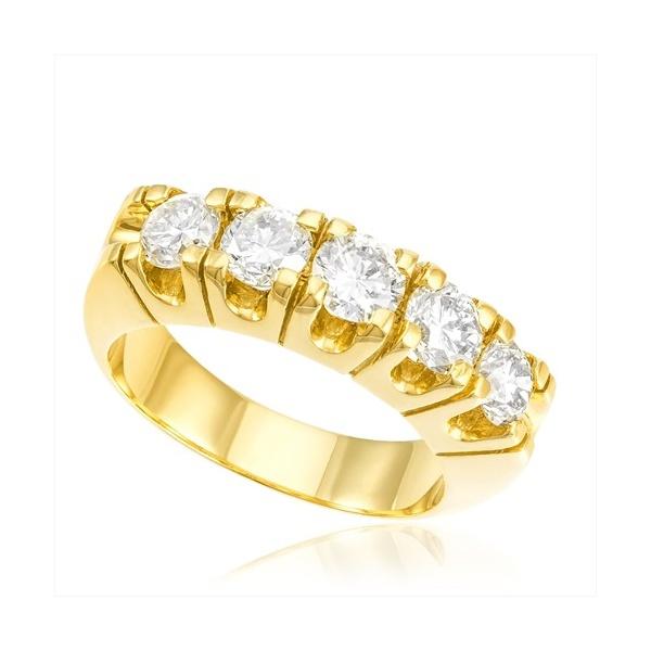 Meia Aliança de Diamantes DF