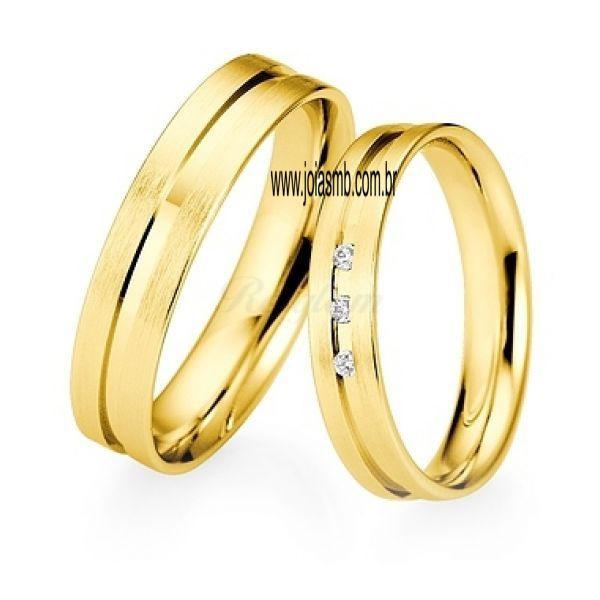 Alianças de Casamento Conchal 5,6mm