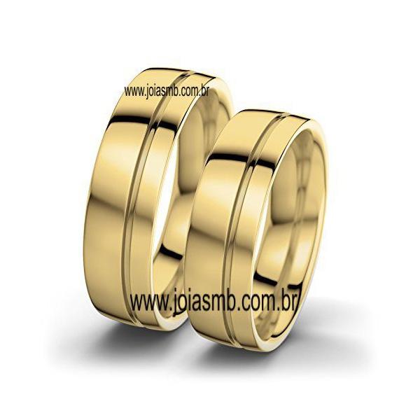 Alianças de Casamento Nanuque 7mm