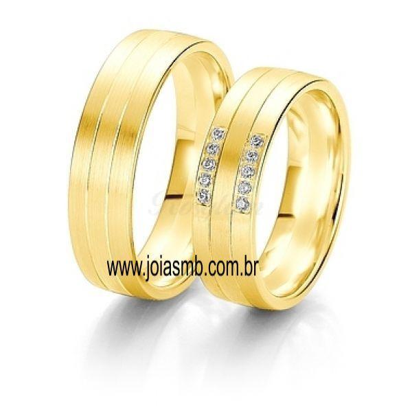 Alianças de Casamento Niquelândia 6mm