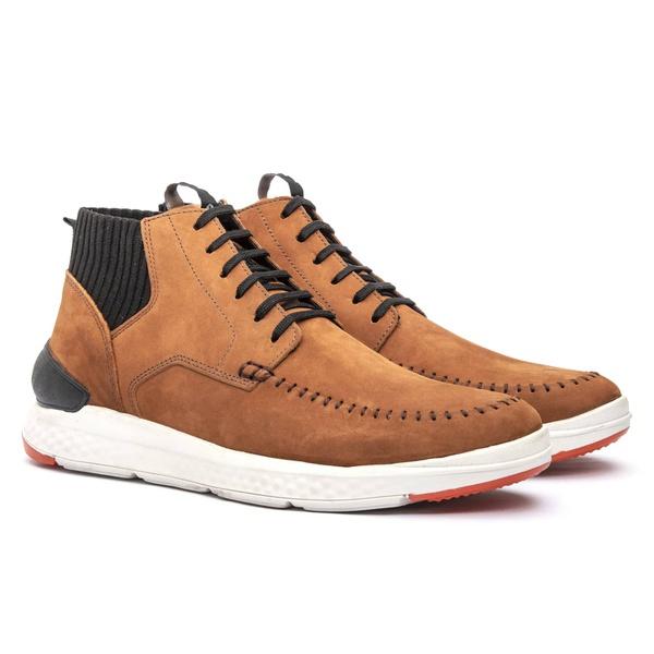 Sneaker Cuenca Knit Fresh Mix Tan - Jovaceli