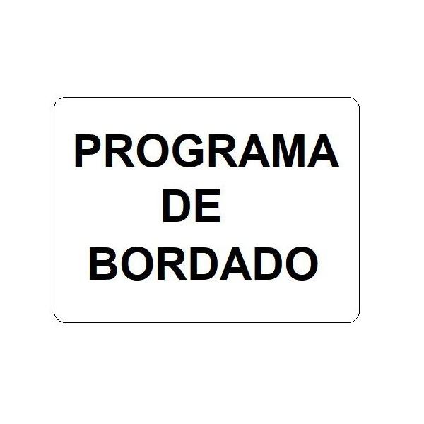 Programa de Bordado