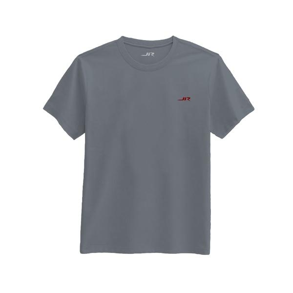 Camiseta Masculina Básica - Cinza Chumbo