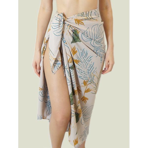 Canga Floral Pastel - Amazona Beachwear
