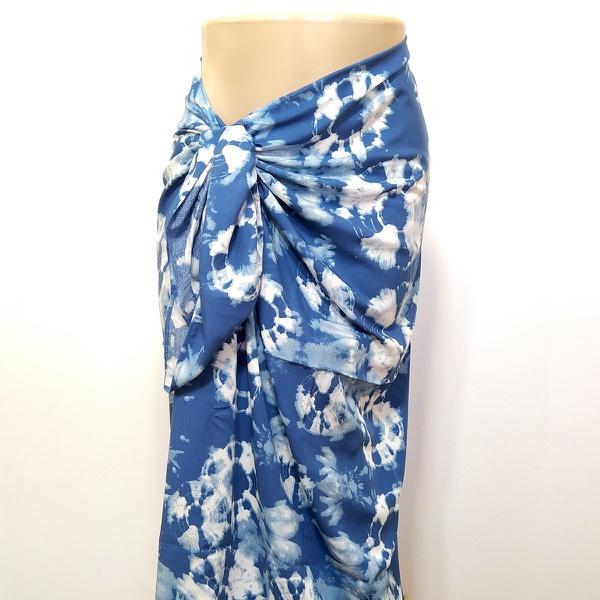 Canga Tie Dye Azul Claro