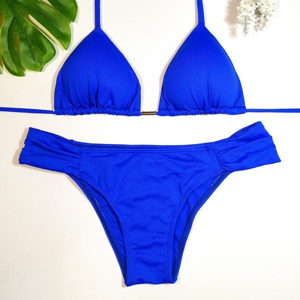 Biquíni Azul Bic