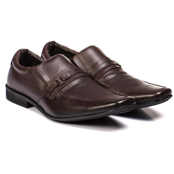 Sapato Social Linha Moscou em couro Legítimo