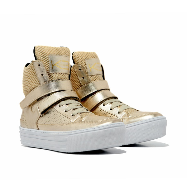 Sneaker Feminino K3 Fitness Smooth Gold