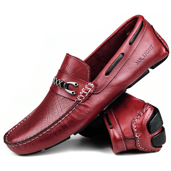 Mocassim Masculino Latego Craft Bordo Berlin 300