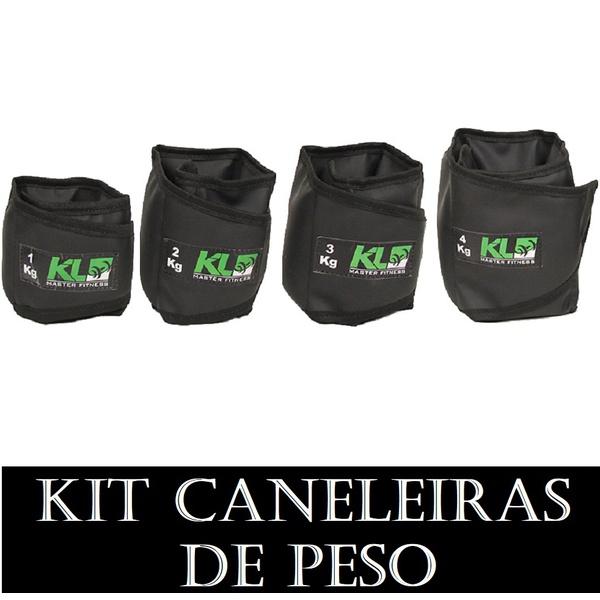 Kit caneleira Tonozeleira de Peso 1,2,3 e 4 kg