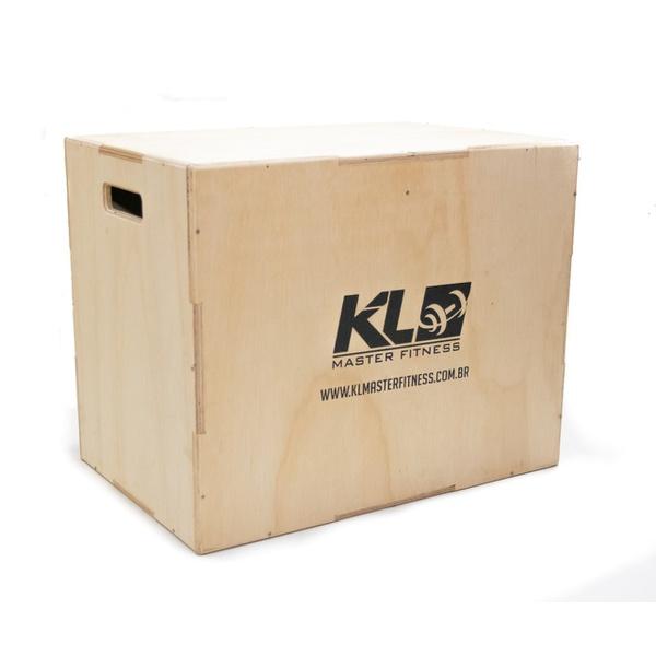 Caixa De Salto/jump Box/ Plyo Box Crossfit 75x50x60