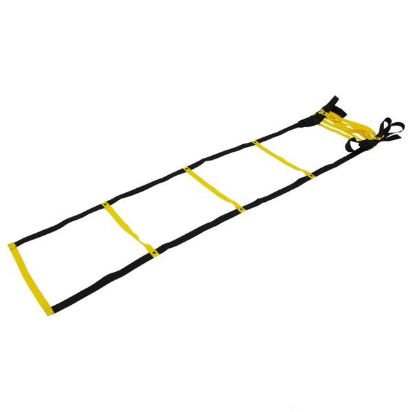 Escada Agilidade Circuito De Treino Funcional Dvd Grátis Amarelo