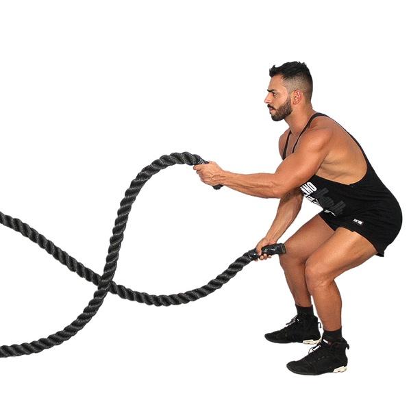 Corda Naval Rope Training Crossfit 10 metros 34 mm Funcional