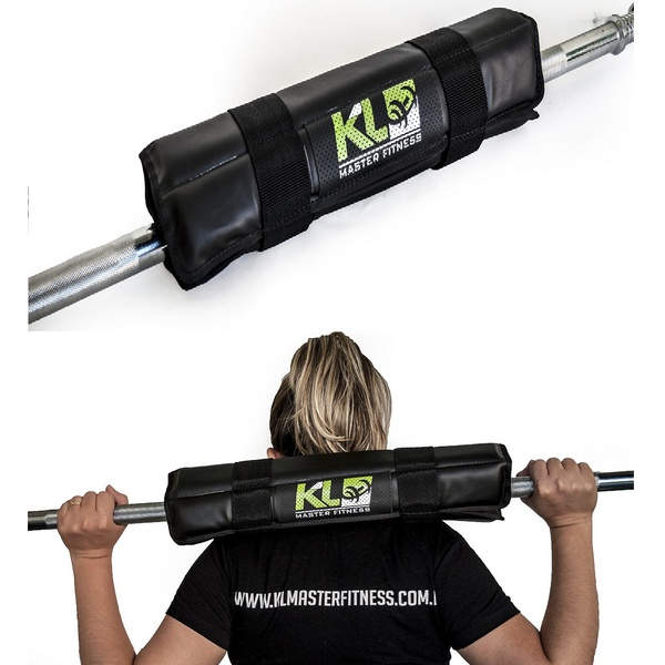 Kit 3 Protetor Para Barra Profissional Agachamento Proteção