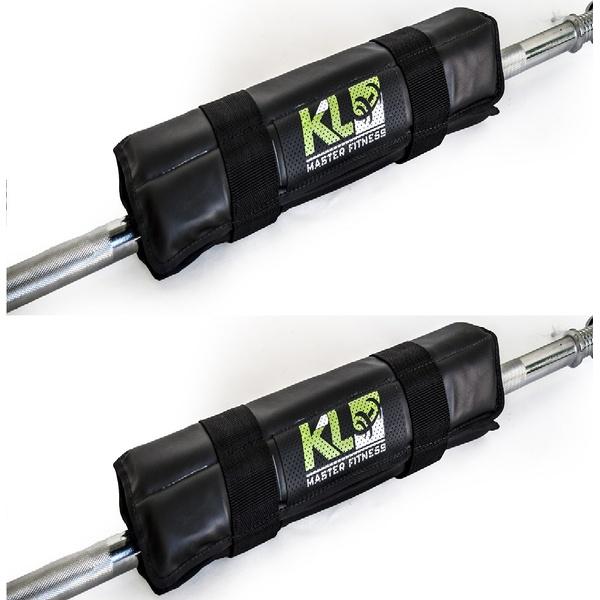Kit 2 Protetor Para Barra Profissional Agachamento Proteção