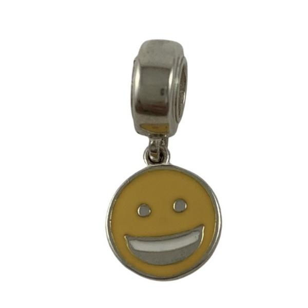 Berloque Smile em Prata 925