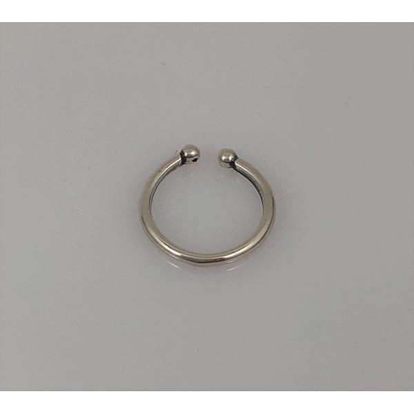 Piercing de Pressão Liso em Prata 925