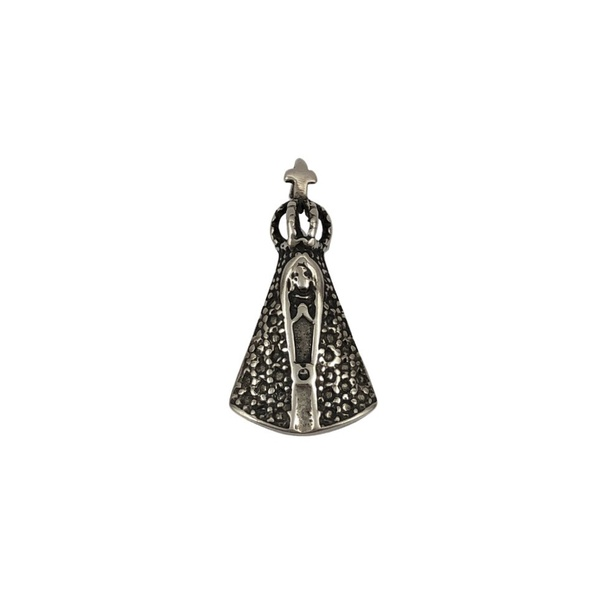 Pingente Nossa Senhora Falsa Cravação em Prata 925
