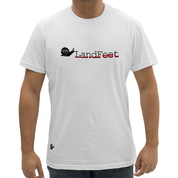 CAMISETA SPICE BRANCA - LANDFEET