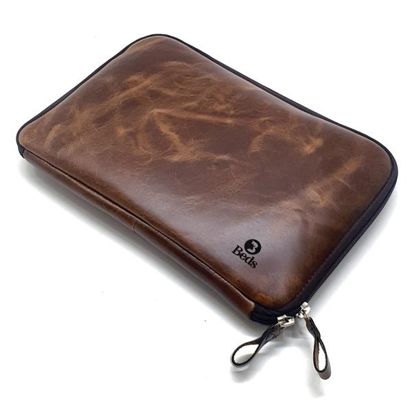 Capa Para Notebook Case Em Couro Legitimo Bovino Original Fossel