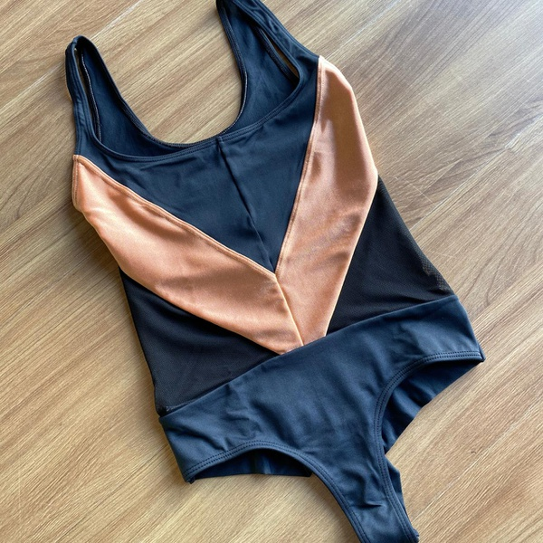 Body larulp chicago detail front - PTO/OURO ROSA(LARANJA)