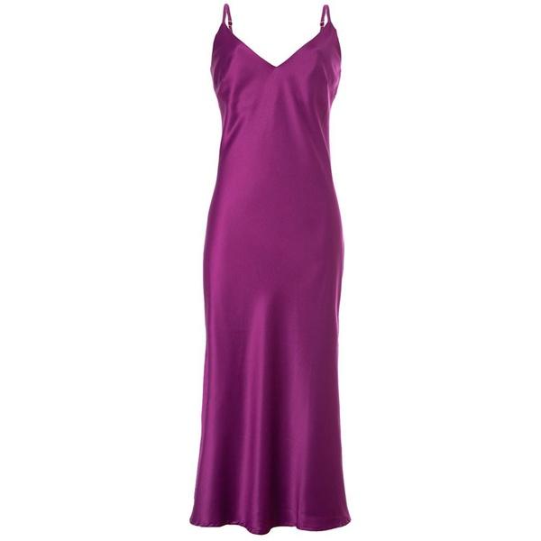 Slip Dress Fúcsia