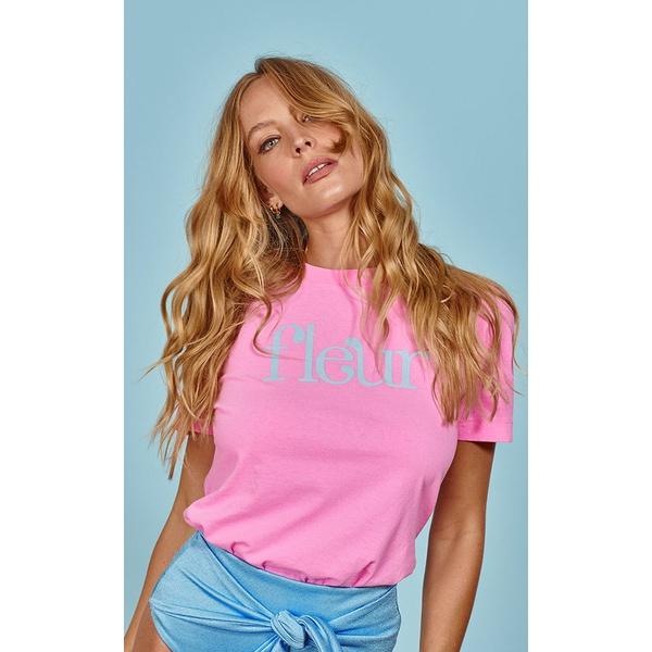 Fleur Rosa - T-Shirt