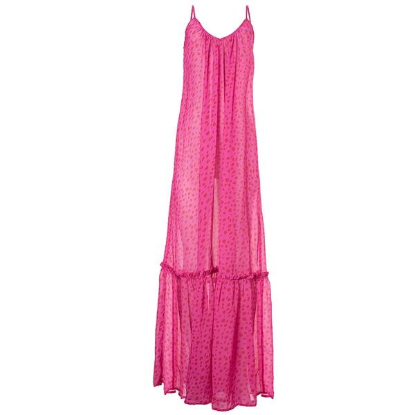 Donna Pink - Vestido Longo Estampado