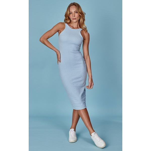 Melina Azul - Vestido Midi