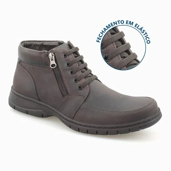 Bota Anatomic Gel Mustang Brown 7981