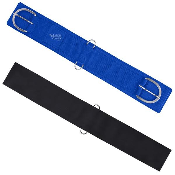 Barrigueira Neoprene Estreita Sport Equine Azul Royal 4556