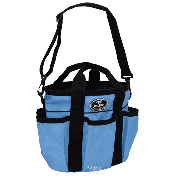 Bolsa Porta Materiais de Higiene Azul Turquesa