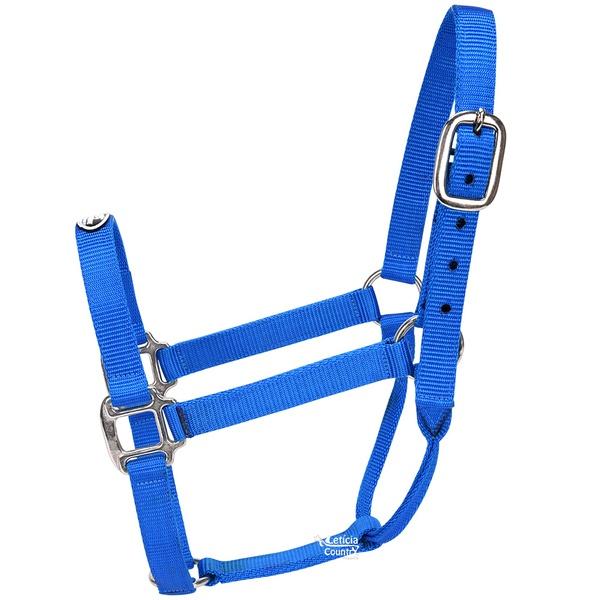 Cabresto para Cavalo Nylon Azul Royal Boots Horse 3932