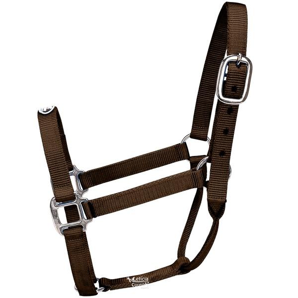 Cabresto para Cavalo Nylon Marrom Boots Horse