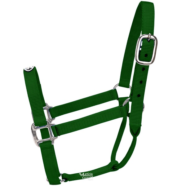Cabresto para Cavalo Nylon Verde Escuro Boots Horse