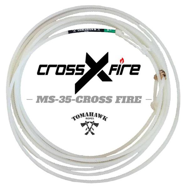 Corda Tomahawk Cross Fire 4 Tentos MS 35 PÉ para Laço em Dupla