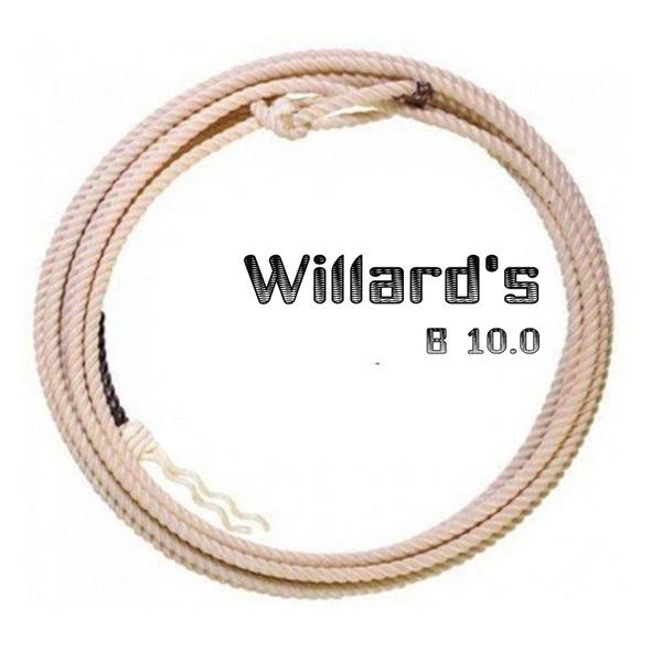 Corda Importada Willard Rope Co Para Laço De Bezerro Profissional B 10.0mm