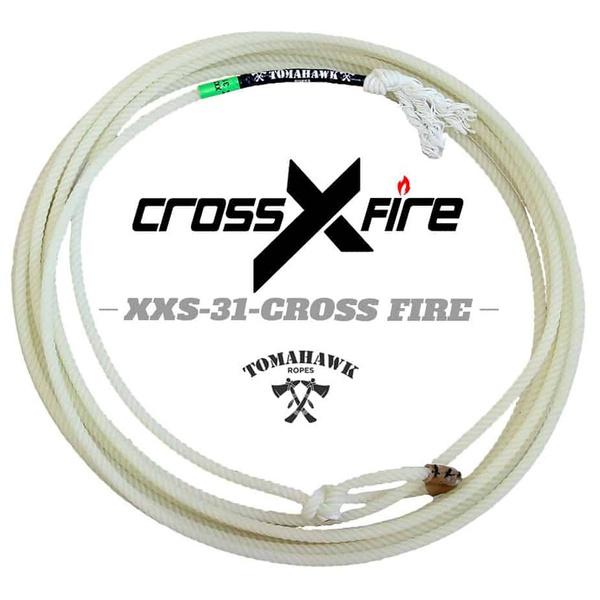Corda Tomahawk Cross Fire 4 Tentos XXS 31 Cabeça para Laço em Dupla