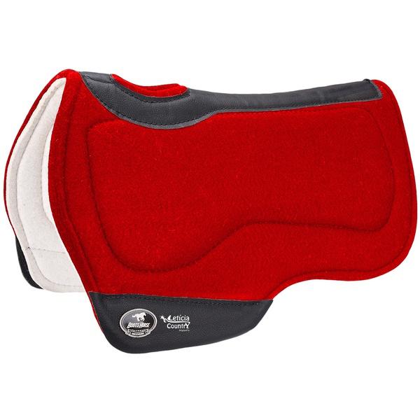 Manta Tambor Boots Horse Redonda Flex Comfort Vermelha BH-82 3989
