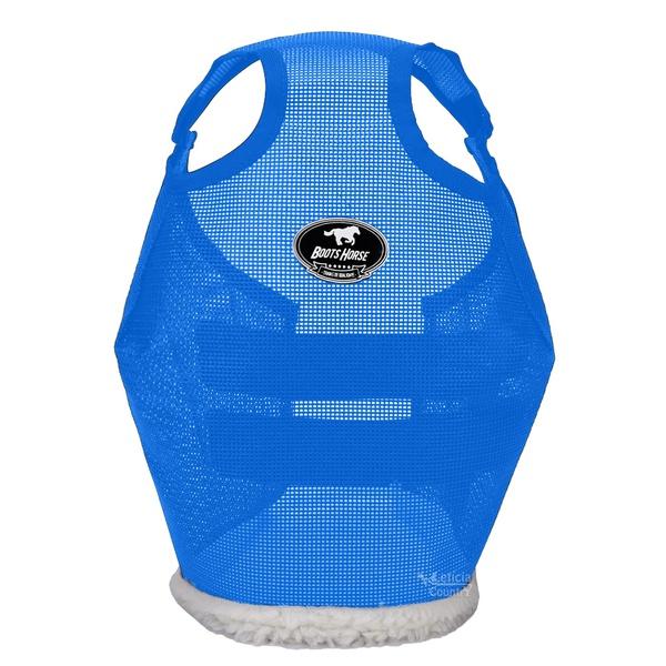 Máscara de Proteção para Cavalos Boots Horse Azul