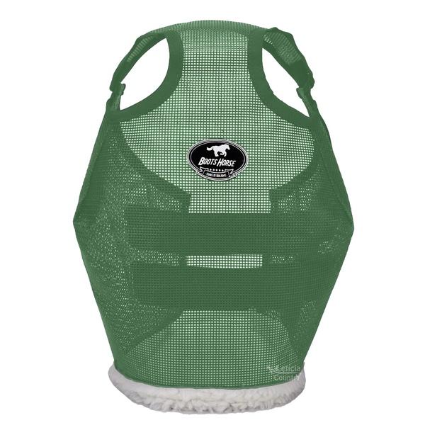 Máscara de Proteção para Cavalos Boots Horse Verde