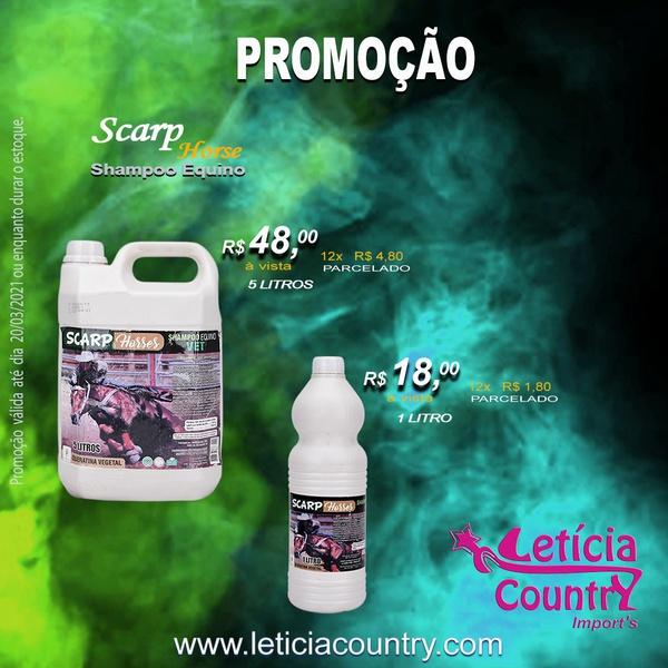 Shampoo para Equinos Scarp Horse 5 Litros 4202