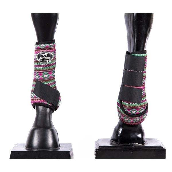 Boleteira Dianteira Estampada Boots Horse 4511